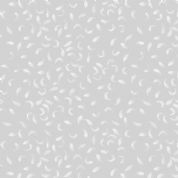 Lewis & Irene - Love Me Love Me Not - 5846 - White Petals on Grey - A272.2 - Cotton Fabric
